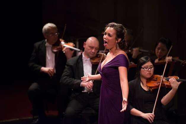 "Soprano Nadine Sierra was vivid and breathtaking singing Gounod's ""Roméo et Juliette,"" and steamy in ""Manon"" duet. Photo: Kristen Loken"