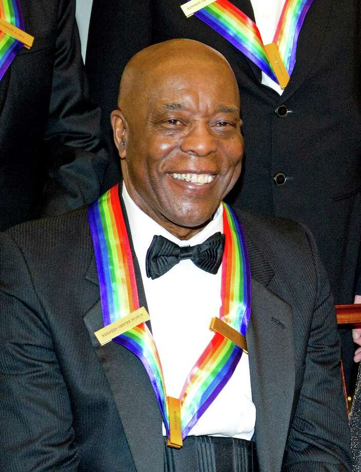 Buddy Guy, recipient of the 2012 Kennedy Center Honors, poses for a photograph following a dinner for Kennedy honorees. Photo: Pool, Getty Images / 2012 Getty Images