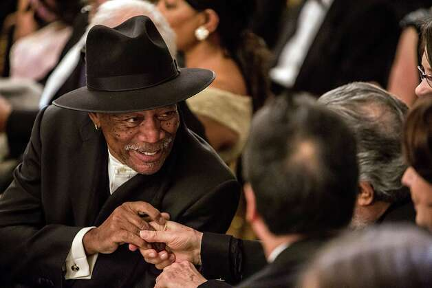 No. 7 in United States: Morgan Freeman Photo: Brendan Hoffman, Getty Images / 2012 Getty Images