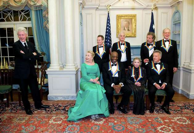 2012 Kennedy Center Honors with President Bill Clinton and Secretary of State Hillary Clinton