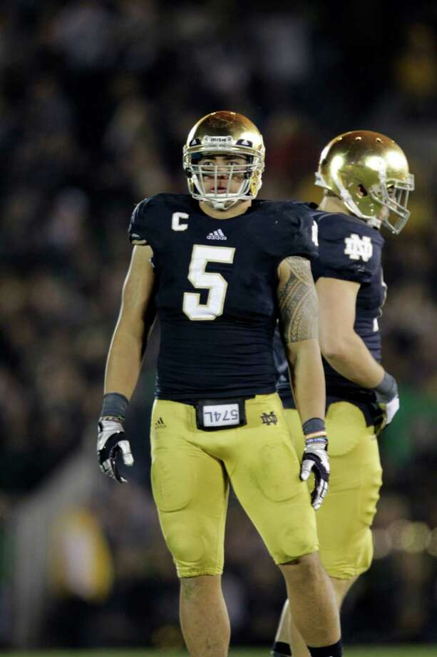 Notre Dame LB Manti Te'o Photo: Michael Conroy, STF / AP