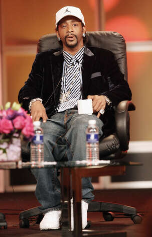 Katt Williams, Host of the BET Hip Hop Awards listens to a question during the 2006 Summer Television Critics Press Tour for the BET Network at the Ritz Carlton Hotel on July 11, 2006, in Pasadena, Calif. (Photo Frederick M. Brown/Getty Images). Photo: Frederick M. Brown / Getty Images