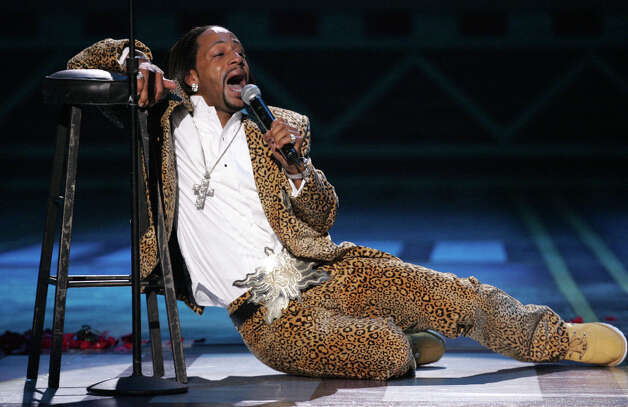 Comedian Katt Williams performs onstage at the 2005 BET Comedy Icon Awards at the Pasadena Civic Auditorium in Pasadena, Calif. Photo: Vince Bucci / Getty Images