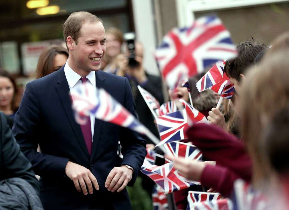 2. Prince William, Duke of Cambridge Photo: CHRIS JACKSON, AFP/Getty Images / 2012 Getty Images