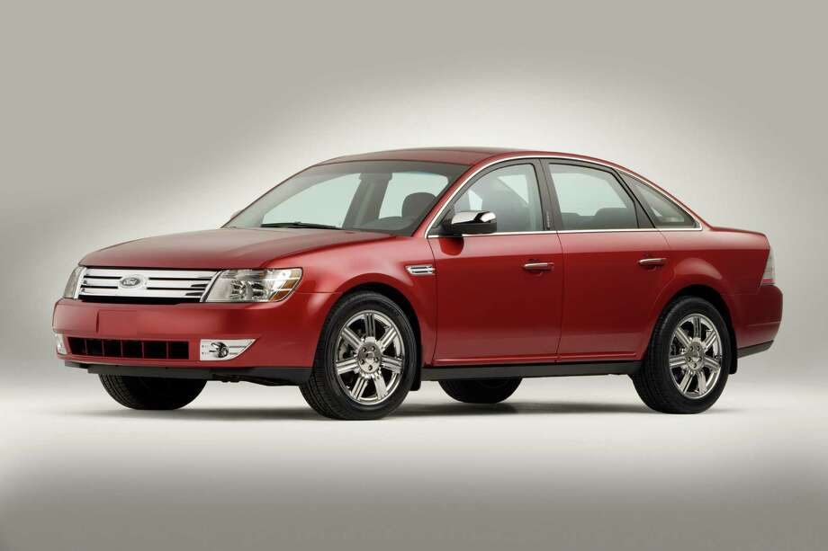 2008 Ford Taurus: The model's average repair bill was $141.17, ranking it among the lowest in the 100 vehicles surveyed. The Ford Taurus also had relatively few repair incidents, according to CarMD. Photo: Ford / Ford