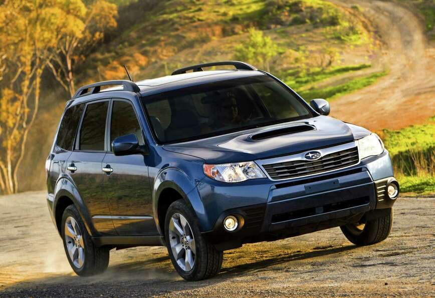2010 Subaru Forester: Out of the top 10 vehicles, the Forester had the lowest re