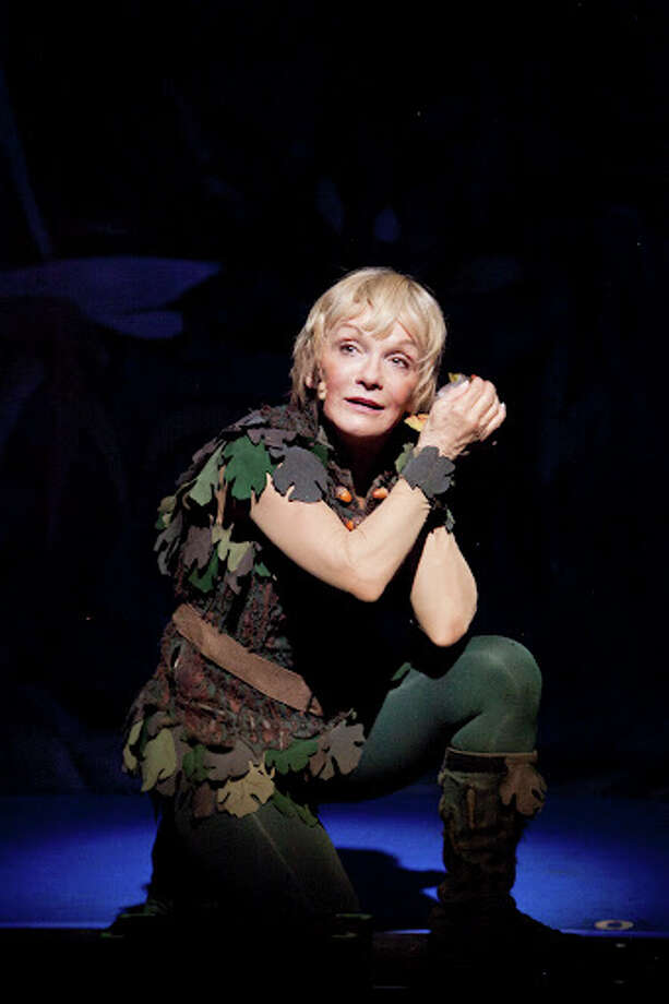 "Cathy Rigby plays the title role in the national tour of ""Peter Pan"" at the Hobby Center through Dec. 23."