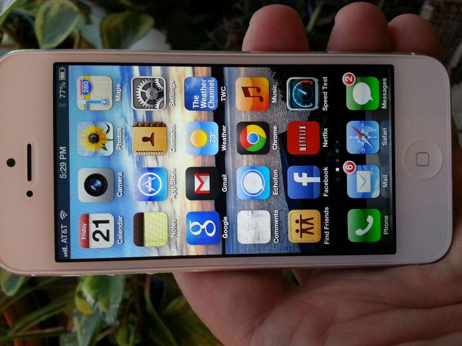 iPhone 5 - Apple's flagship iOS phone starts at $199 with a 2-year contract from AT&T, Sprint and Verizon.