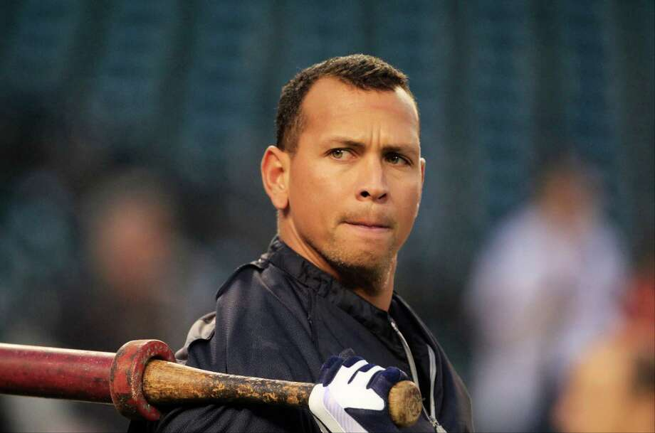 In this Wednesday, Oct. 17, 2012 photo, New York Yankees' Alex Rodriguez takes batting practice before Game 4 of the American League championship series against the Detroit Tigers, in Detroit. The New York Yankees said Monday, Dec. 3, 2012, Rodriguez will have surgery on his left hip and will miss the start of the season and possibly the entire first half. (AP Photo/Carlos Osorio) Photo: Carlos Osorio