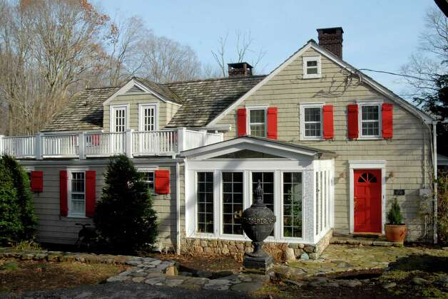 Col Stone and Ann Jasperson's circa 1730's home on Haviland Rd in North Stamford, Conn. on Monday December 3, 2012. Photo: Dru Nadler / Stamford Advocate Freelance