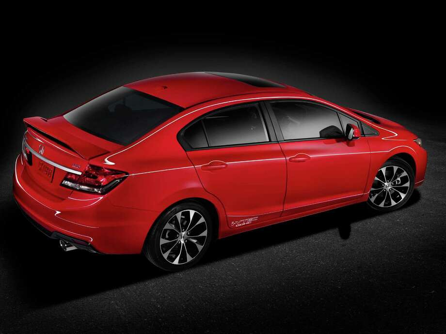 8. 2014 Honda Civic SIMSRP: Starting at $22,515Source: KBB Photo: Honda, American Honda Motor Company / © 2012 American Honda Motor Co., Inc.