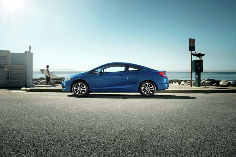 2013 Honda Civic EX-L Coupe. Photo: Honda, American Honda Motor Company / © 2012 American Honda Motor Co., Inc.