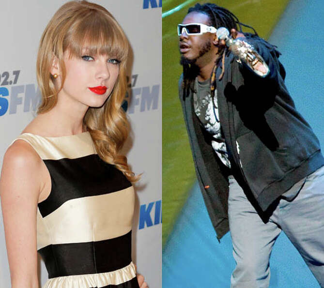 Taylor Swift and T-Pain