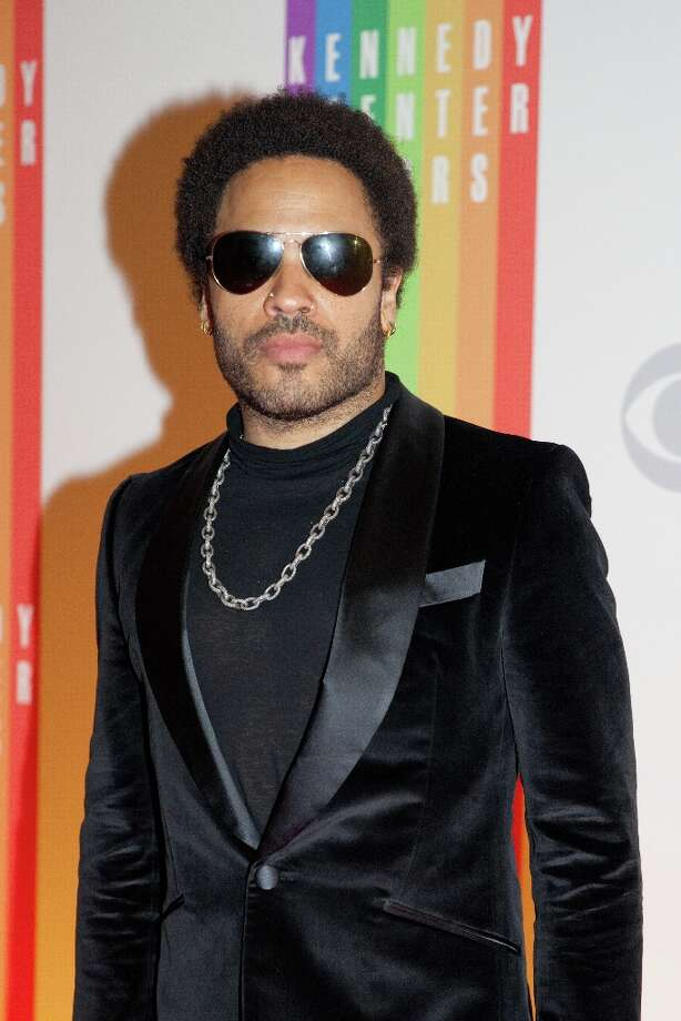 Musician and actor Lenny Kravitz arrives at the 35th Kennedy Center Honors, at the Kennedy Center in Washington, DC, December 2, 2012. Drew Angerer/AFP/Getty Images Photo: DREW ANGERER, AFP/Getty Images / AFP