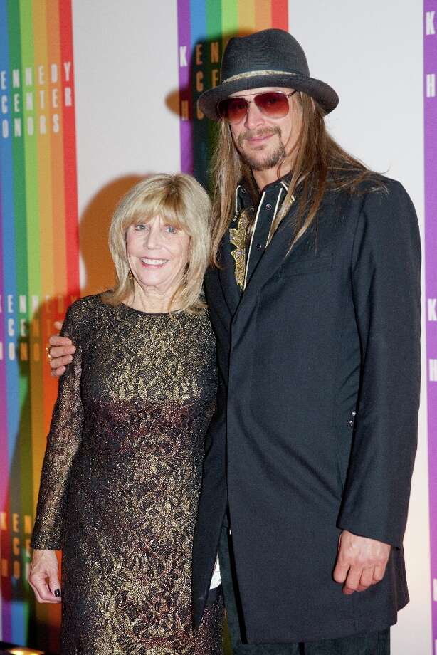 Musician Kid Rock and his mother Susan Ritchie (L) arrive at the 35th Kennedy Center Honors, at the Kennedy Center in Washington, DC, December 2, 2012.Drew Angerer/AFP/Getty Images Photo: DREW ANGERER, AFP/Getty Images / AFP