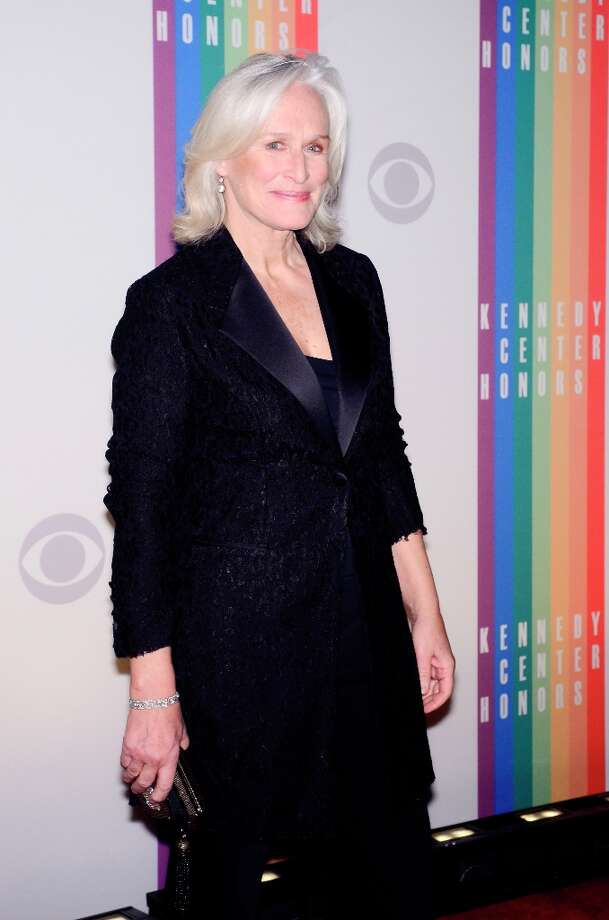 Glenn Close poses for photographers during the 35th Kennedy Center Honors at the Kennedy Center Hall of States on December 2, 2012 in Washington, DC. (Photo by Kris Connor/Getty Images) Photo: Kris Connor, Getty Images / 2012 Getty Images