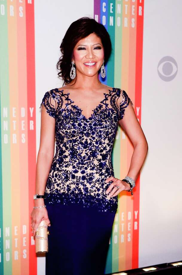 Julie Chen poses for photographers during the 35th Kennedy Center Honors at the Kennedy Center Hall of States on December 2, 2012 in Washington, DC. (Photo by Kris Connor/Getty Images) Photo: Kris Connor, Getty Images / 2012 Getty Images