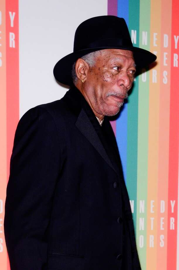 Morgan Freeman poses for photographers during the 35th Kennedy Center Honors at the Kennedy Center Hall of States on December 2, 2012 in Washington, DC. (Photo by Kris Connor/Getty Images) Photo: Kris Connor, Getty Images / 2012 Getty Images
