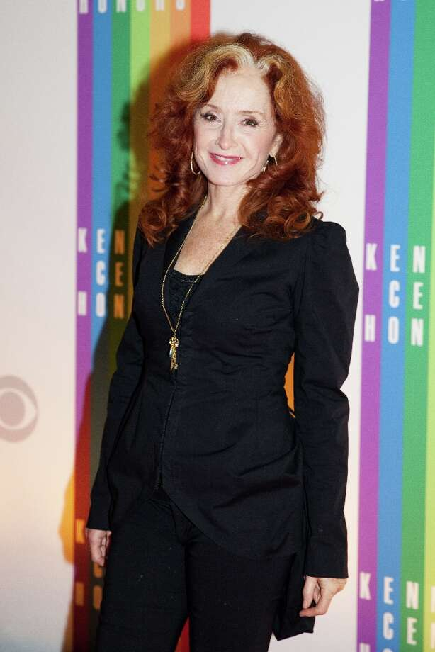 Musician Bonnie Raitt arrives at the 35th Kennedy Center Honors, at the Kennedy Center in Washington, DC, December 2, 2012. Drew Angerer/AFP/Getty Images Photo: DREW ANGERER, AFP/Getty Images / AFP