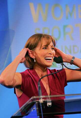 Shannon Miller, who has seven career Olympic medals to her name, is now president of Shannon Miller Lifestyle: Health and Fitness for Women.  Photo: Michael Cohen, Getty Images / Getty Images North America