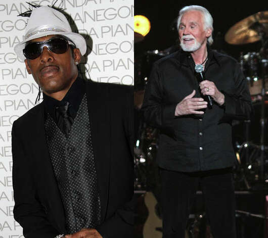 "Coolio had Kenny Rogers join him for ""The Hustler."" Too bad the only 
