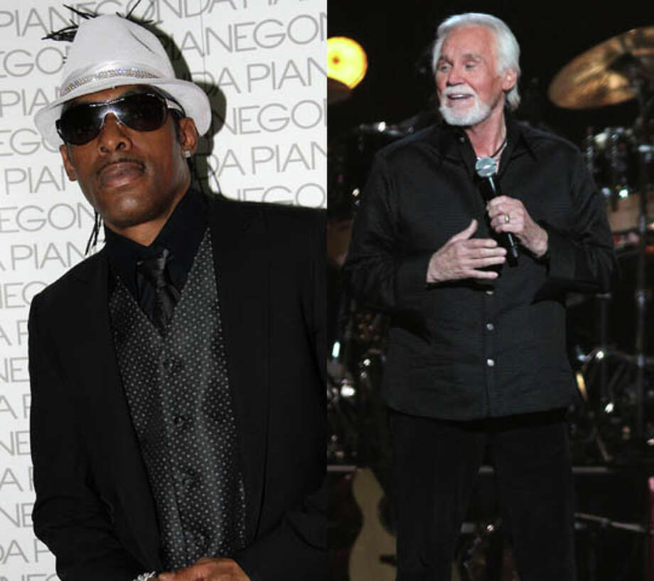 """Coolio had Kenny Rogers join him for """"The Hustler."""" Too bad the only  people who got hustled were the ones who actually paid for the record. Photo: Maria Strinni/Star Gazette/AP And Giuseppe Cacace/Getty"""