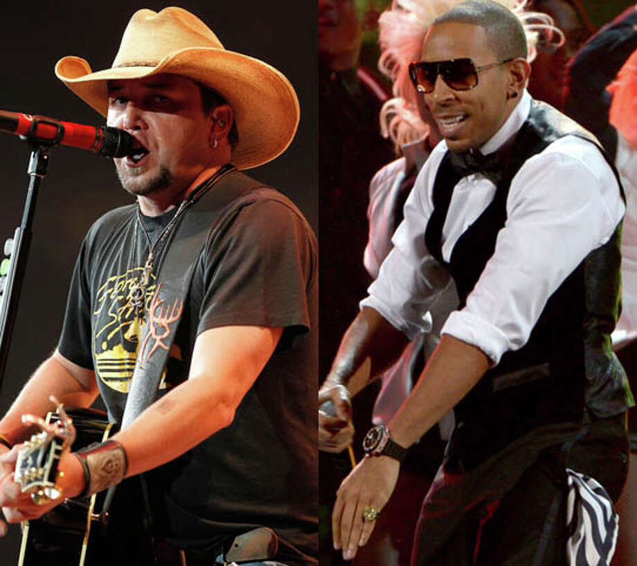 "Jason Aldean and Ludacris came out with ""Dirt Road Anthem"". The worst part of this is that Aldean actually tries to rap. Photo: James Neilsen/Houston Chronicle And Kevin Winter/Getty"
