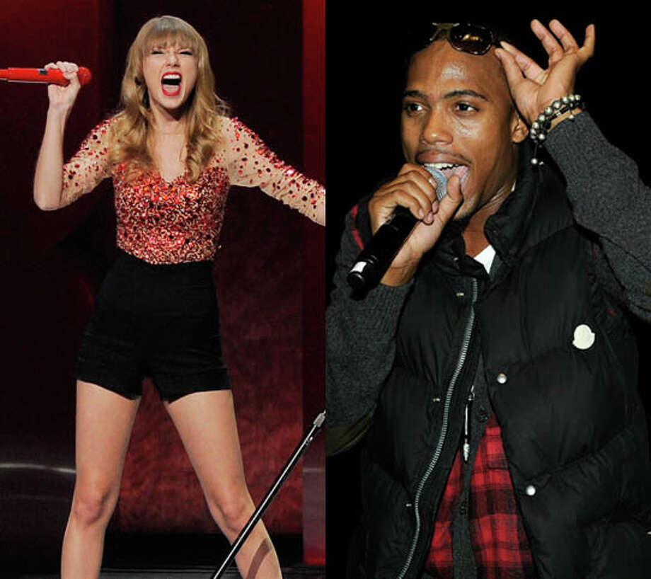 "B.o.B really likes his collaborations and crossover pop hits. He must like the money too. He teamed with Taylor Swift for ""Both Of Us.""   Photo: Chris Pizzello/AP And Larry Busaca/Getty"