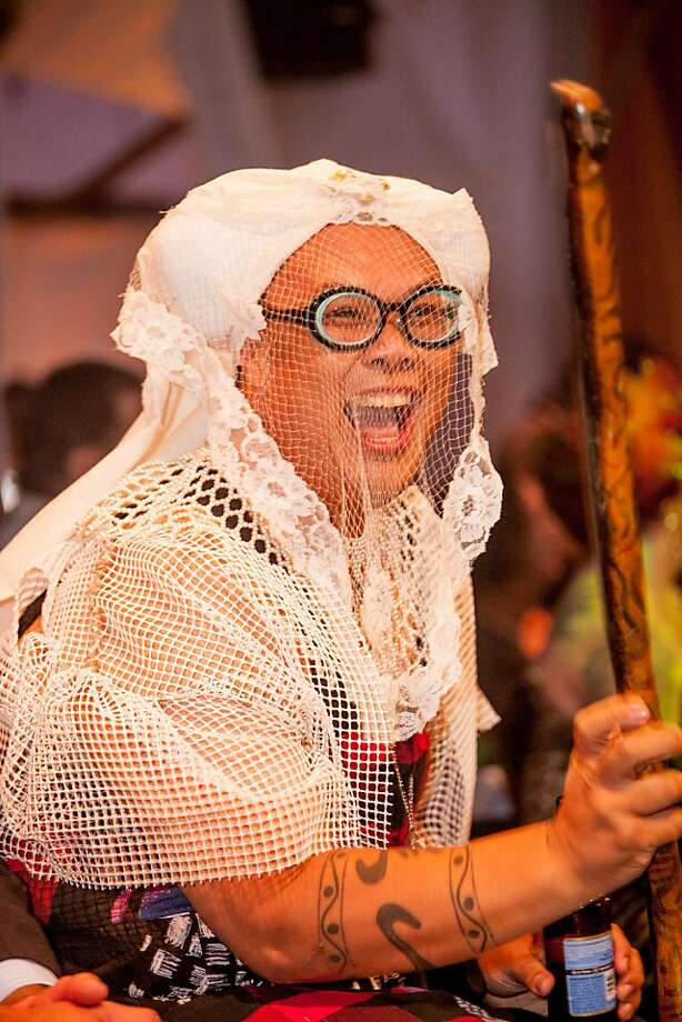 Sister Baba Ganesh was one of the organizers of Project Nunway IV, a fundraiser for the Sisters of Perpetual Indulgence on Dec. 2, 2012 in San Francisco. Tickets ran from $201.2 to $99.99 for Diva all-access passes. Photo: Drew Altizer Photography