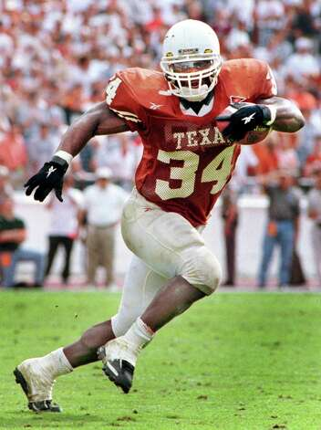 Ricky Williams, the 1999 Heisman winner, finished his career against Mississippi State in the 1999 Cotton Bowl. Powered by Williams' 203 rushing yards, Texas cruised to a 38-11 decision and its first New Year's Day bowl victory in 17 years. Source: attcottonbowl.com (University of Texas photo)
