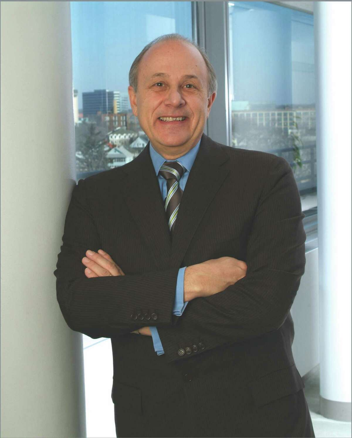 Murray D. Martin, who is retiring as Pitney Bowes' chairman, president and CEO.
