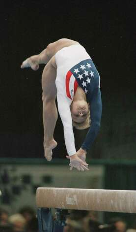 Amanda Borden was captain of the gold-medal winning U.S. team in 1996. Her leadership and knowledge can still be seen today as she has been asked to commentate on many gymnastics and cheerleading events. Photo: Smiley N. Pool, Houston Chronicle / Houston Chronicle