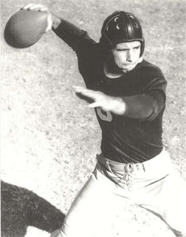 "Athletes such as Davey ""Slingshot"" O'Brien, the 1938 Heisman winner from TCU,  started the football nickname tradition. Photo: COURTESY TCU"