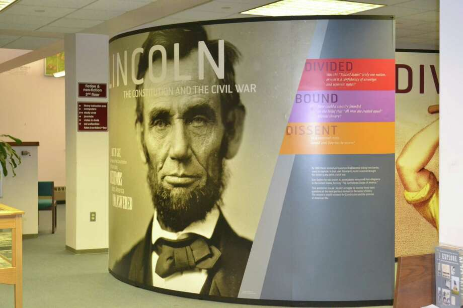 ìLincoln: The Constitution and the Civil War,î is on display at NCC until Dec. 12. Photo: Contributed Photo