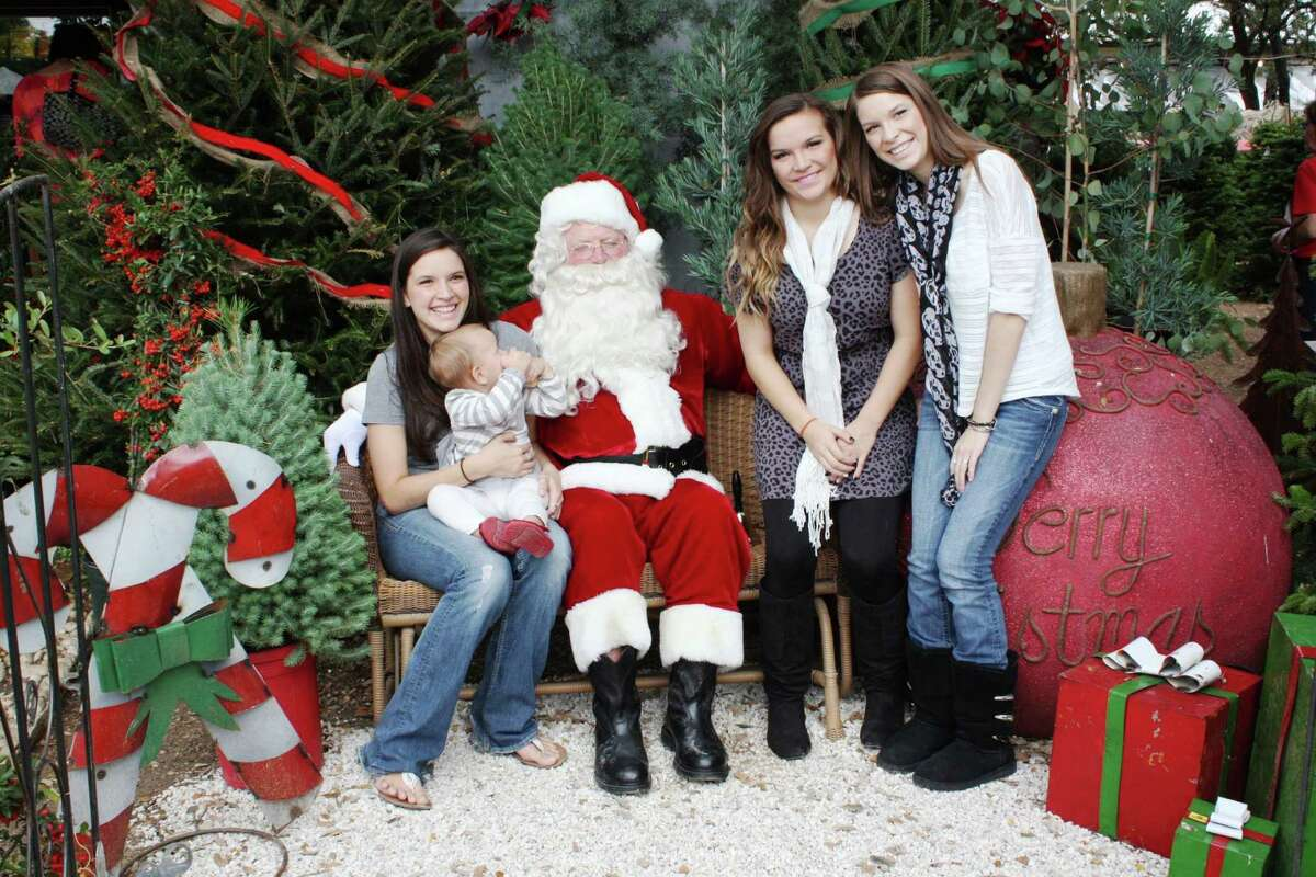 Santa Photos - Saturday, December 1, 2012 Milberger Landscaping and Nursery