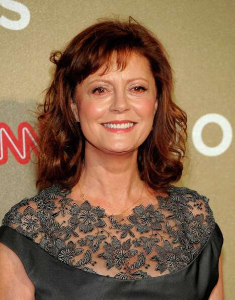 Actress Susan Sarandon arrives at CNN Heroes at The Shrine Auditorium on Sunday, Dec. 2, 2012, in Lo