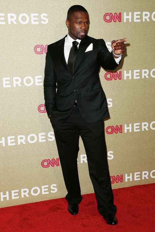 Recording artist/actor 50 Cent attends the CNN Heroes: An All Star Tribute at The Shrine Auditorium on December 2, 2012 in Los Angeles, California.  (Photo by Frederick M. Brown/Getty Images) Photo: Frederick M. Brown, Getty Images / 2012 Getty Images