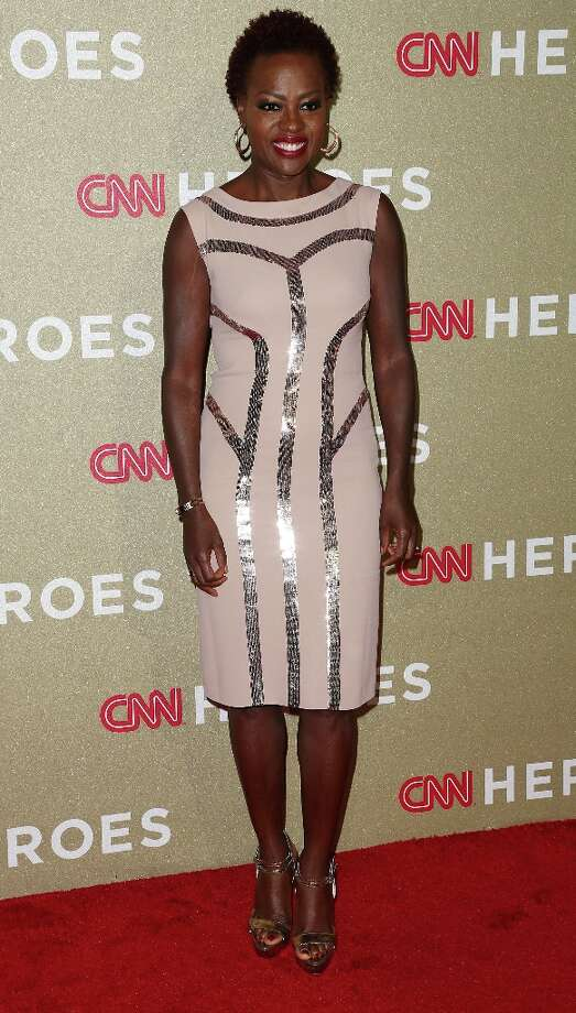 Actress Viola Davis attends the CNN Heroes: An All Star Tribute at The Shrine Auditorium on December 2, 2012 in Los Angeles, California.  (Photo by Frederick M. Brown/Getty Images) Photo: Frederick M. Brown, Getty Images / 2012 Getty Images