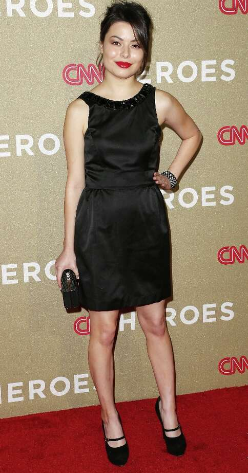Actress Miranda Cosgrove attends the CNN Heroes: An All Star Tribute at The Shrine Auditorium on December 2, 2012 in Los Angeles, California.  (Photo by Frederick M. Brown/Getty Images) Photo: Frederick M. Brown, Getty Images / 2012 Getty Images