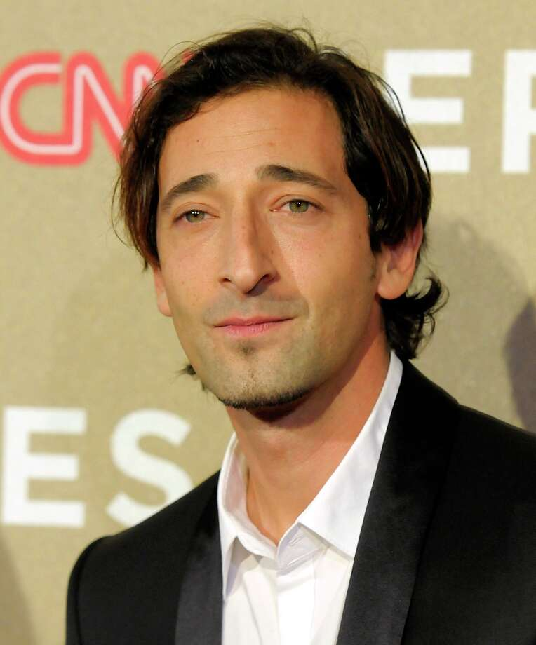 Actor Adrien Brody arrives at CNN Heroes at The Shrine Auditorium on Sunday, Dec. 2, 2012, in Los Angeles. (Photo by Dan Steinberg/Invision/AP) Photo: Dan Steinberg, Associated Press / Invision