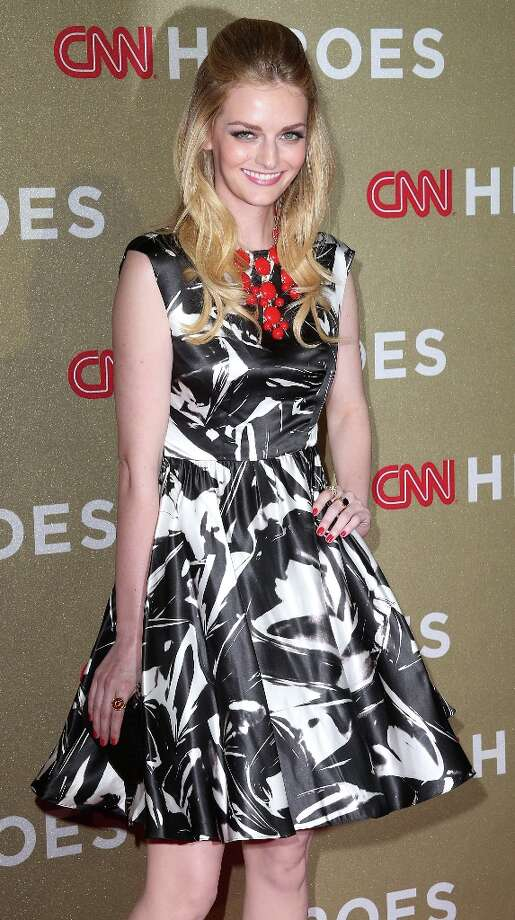 Lydia Hearst-Shaw attends the CNN Heroes: An All Star Tribute at The Shrine Auditorium on December 2, 2012 in Los Angeles, California.  (Photo by Frederick M. Brown/Getty Images) Photo: Frederick M. Brown, Getty Images / 2012 Getty Images
