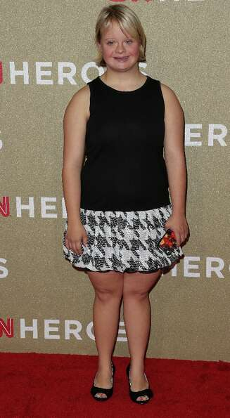 Actress Lauren Potter attends the CNN Heroes: An All Star Tribute at The Shrine Auditorium on Decemb