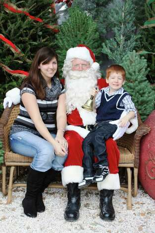 Santa Photos - Saturday, Dec. 1, 2012 Milberger Landscaping & Nursery Photo: Express-News