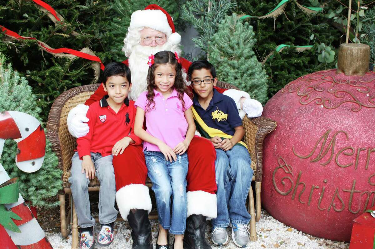 Santa Photos - Dec. 1, 2012 Milberger Landscaping & Nursery