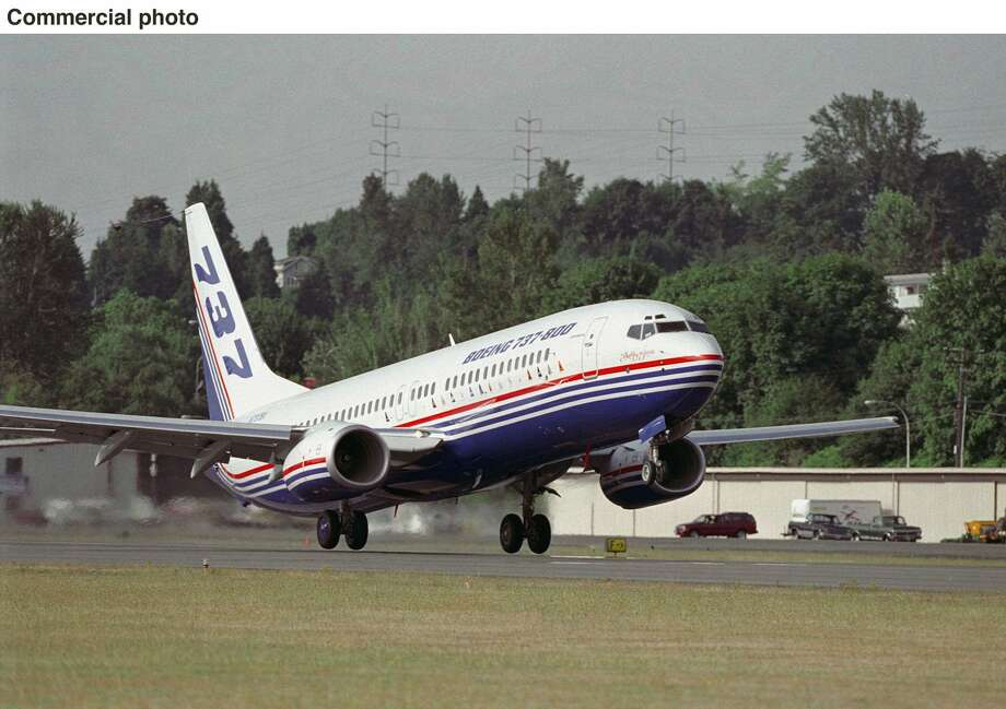 The Boeing 737-800 makes its first flight on July 30, 1997, from Renton. Photo: PR NewsFoto, PRN  / BOEING