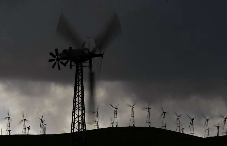 Wind is one source the state is relying on to get 33 percent of its electricity from renewables by 2020. Photo: Michael Macor, The Chronicle