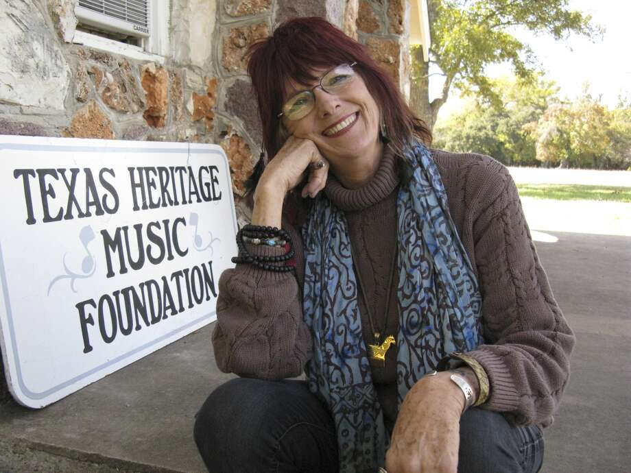 Kathleen Hudson, founder of Texas Heritage Music Foundation.  Zeke MacCormack/San Antonio Express-News
