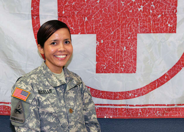 Maj. Isaritza Rosello is the physician assistant for Headquarters and Headquarters Battalion, U.S. Army North.  Photo: Courtesy / U.S. Army North PAO