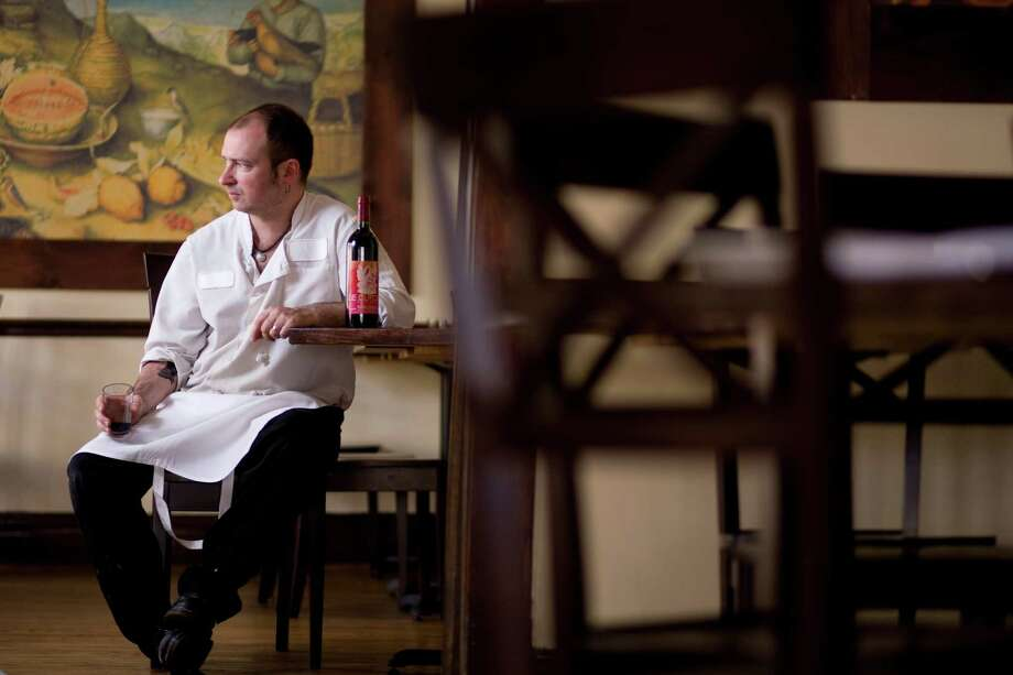Feast chef/co-owner James Silk says closing the restaurant was a tough decision. Photo: Nick De La Torre, Staff / Houston Chronicle