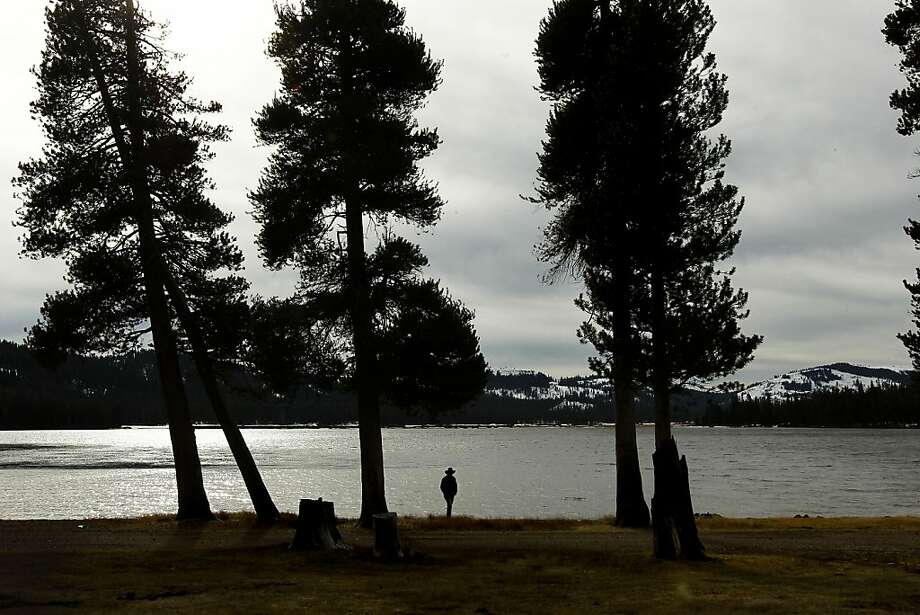 John Svahn, Truckee Donner Land Trust stewardship director, walks near the newly acquired Webber Lake. Photo: Michael Macor, The Chronicle